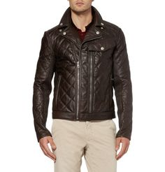 Quilted Leather Jacket - Gucci. Could never afford it, but I love it!