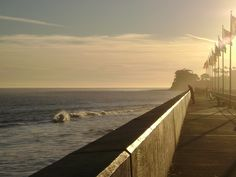 Santa Barbara Harbor, CA @ sunset