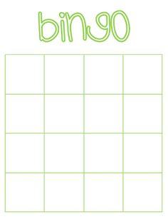 Bingo   Zelf maken