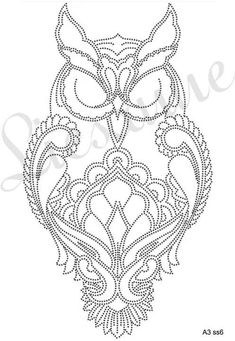 The Latest Trend in Embroidery – Embroidery on Paper - Embroidery Patterns Paper Embroidery, Beaded Embroidery, Embroidery Patterns, String Art Templates, String Art Patterns, Dot Art Painting, Mandala Painting, Owl Patterns, Quilling Patterns