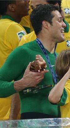 Brazil -------Goalkeeper  Julio Cesar