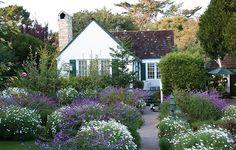 Darling cottage, darling garden.