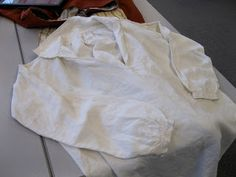 Two Nerdy History Girls: The Finer Points of an 18th c. Man's Shirt A shirt made by:  Mark Hutter
