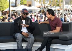 """R Kelly takes a selfie at """"Extra"""" at Universal Studios Hollywood on October 2015 in Universal City, California. Universal City, Universal Studios, Galleries, Mario, Editorial, Track, October, Take That, Hollywood"""