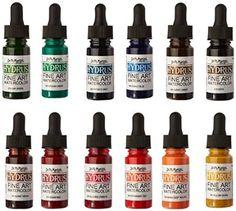 Dr. Ph. Martin's Hydrus Fine Art Watercolor Bottles, 0.5 oz, Set of 12 (Set 2)