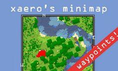 Xaero's Minimap mod nie jest tym czym inne mody na minimapy. Twórca postawił na prosty wygląd, przypominający Minecraft w wersji vanilla, tak abyś miał wrażenie, że mod na mapę jest wbudowany w grę od samego początku.