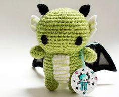 Baby Dragon Amigurumi  PDF Crochet Pattern by adorablykawaii, $3.00