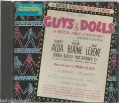 Guys and Dolls [Original Broadway Cast] by Various Artists (CD, 1961, Decca...