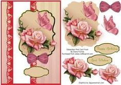 Edwardian Pink Card Front