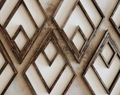 home_decor - Aztec Diamond Wood Sign Wooden Wall Art, Wooden Walls, Diy Furniture Covers, Estilo Kitsch, Rustic Closet, Bois Diy, Wood Signs, Just In Case, Wood Crafts