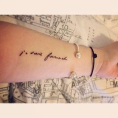 Je suis farouche (translation: I am wild or I am fierce) - inspired from Les Miserables, written by Victor Hugo