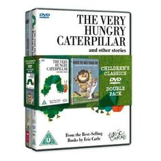 Very Hungry Caterpillar & Where The Wild Things Are   Doble Pack DVD