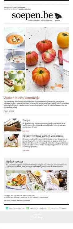 Beautiful Email Newsletters » Blog Archive Soepen » Beautiful Email Newsletters