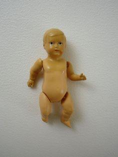 kleine alte Schildkröt Puppe Puppenstube 8 cm Celluloidpuppe | eBay
