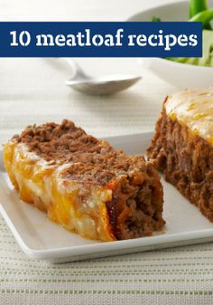 10 Meatloaf Recipes — It's quite possible that meatloaf recipes truly deliver the most comfort of any comfort food recipes.