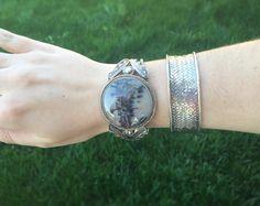 Newest cuffs in the shop! #sterling #dendriticagate #fergusonsfinejewelry