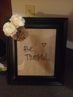 DIY CRAFT. Easy to do! Picture frame decorated with flowers and scrapbook paper that looks like burlap. More to come:)
