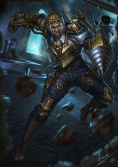 Steampunk Warrior by zeander on DeviantArt