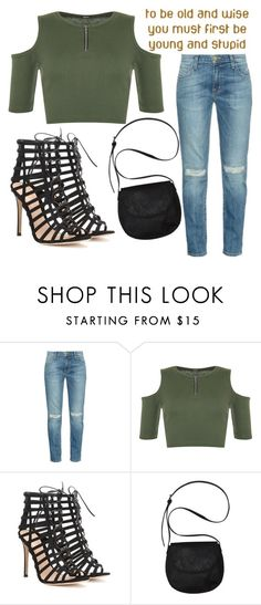 """""""Untitled #891"""" by moria801 ❤ liked on Polyvore featuring Current/Elliott, WearAll, Gianvito Rossi and Billabong"""