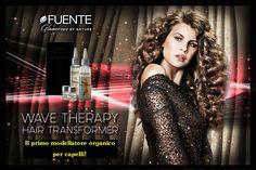 Hair Transformer by Fuente è un trattamento che si può chiamare in molti modi: permanente, arricciante, wave therapy... Ma a noi piace dire semplicemente che è il primo modellatore organico per capelli, delicato e non invasivo, per un'esplosione di ricci e capelli sani e forti!