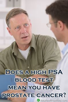 Men typically associate PSA with prostate cancer. However, does a high PSA mean prostate cancer every time?