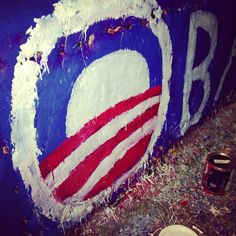 #UVa students getting in some last minute campaigning. Beta Bridge Style