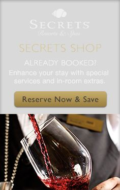Already Booked? Enhance your stay with special services and in-room extras.