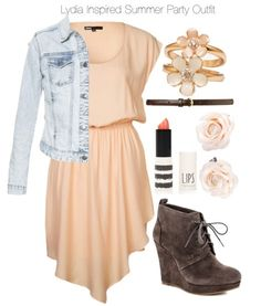 A fashion look from October 2013 featuring Minimum dresses, Zara jackets and Jessica Simpson ankle booties. Browse and shop related looks. Teen Wolf Fashion, Teen Wolf Outfits, Fashion Tv, Fashion Outfits, Lydia Martin Style, Lydia Martin Outfits, Violetta Outfits, Cool Outfits, Summer Outfits