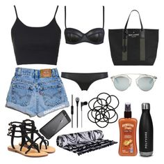 """""""#ContestOnTheGo #ContestEntry"""" by savanabope ❤ liked on Polyvore featuring Milly, Topshop, Christian Dior, Yves Saint Laurent, Mystique, Hawaiian Tropic, Monki, LifeProof, contestentry and ContestOnTheGo"""