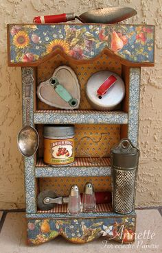 Eclectic Paperie: French Country Kitchen Display