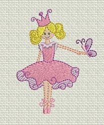 Fit for a Princess 2- 4 Designs! | Princess | Machine Embroidery Designs | SWAKembroidery.com Designs by Juju