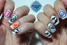 Divergent inspired nail art