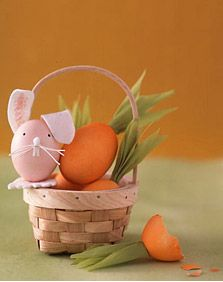 Easter carrot eggs
