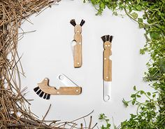Mushroom knifes for kids My Childhood Memories, Knifes, Stuffed Mushrooms, Anna, Behance, Tableware, Check, Design, Knives