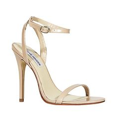 Best Prom Ever Shop Roseland Strappy Sandal Heels From Steve Madden 3992 |2013 Fashion High Heels|
