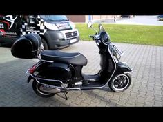 Image result for vespa with top box