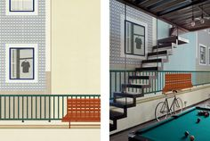 'LISBON' Shout wallpaper design for 2014 Wall & Decò Collection