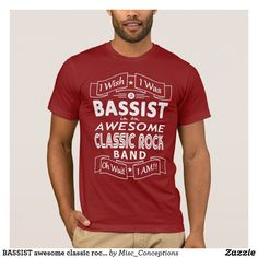 BASSIST awesome classic rock band (wht) #Bassist #BassPlayer #BassGuitar #ClassicRock #ClassicRockBand #TributeBand #festival #festivals #festivallife #AwesomeClassicRockBand #tees #hoodedsweatshirt #tshirt #tshirts #tshirtdesignlogo
