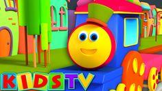Bob, The Train - Alphabet Adventure | #ABCSong | #NurseryRhymes | #KidsSongs