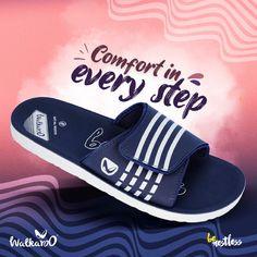 Make your walk towards your goals a comfortable one. #Walkaroo #BeRestless Online Collections, Kid Shoes, Shoes Online, Walking, Footwear, Sandals, Kids, Stuff To Buy, Men