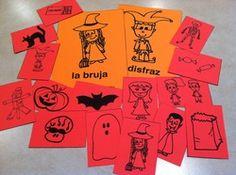 Spanish Halloween Flashcards