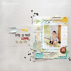 I {lowe} SCRAP :: 'POPs OF' & 'Tis The Season' :: layout by MonaGee