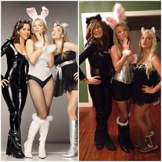 Gretchen, Regina, and Karen! The Plastics, from the movie Mean Girls!