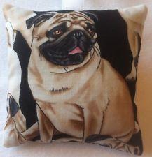 Pug Gift / Pug Fabric Lavender Bag / Pug Dog Gift - Handmade