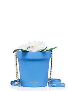 down the rabbit hole daisy flowerpot - Kate Spade New York