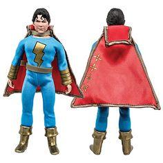 Shazam Products : DC Comics Shazam Series Retro Figures: Shazam Jr. (Blue/Gold Variant) [Loose in Factory Bag]
