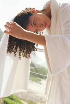 How to Dry Low and High Porosity Hair -- Use the tips and tools for drying low, medium and highly porous hair to help balance the moisture in your locks. Dry Curly Hair, Coily Hair, Curly Hair Tips, Natural Hair Tips, Big Hair, Curly Hair Styles, Natural Hair Styles, Porous Hair, Hair Porosity