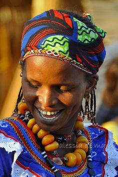 Fulani woman in Burkina Faso © Alessia de Marco