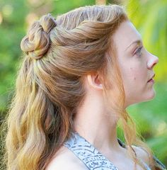 Game of Thrones hair.