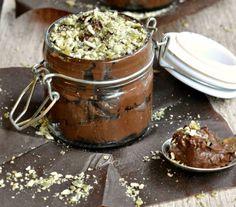 Mousse al cioccolato vegana...che bontà! #ricette #vegan #dolci #cioccolato